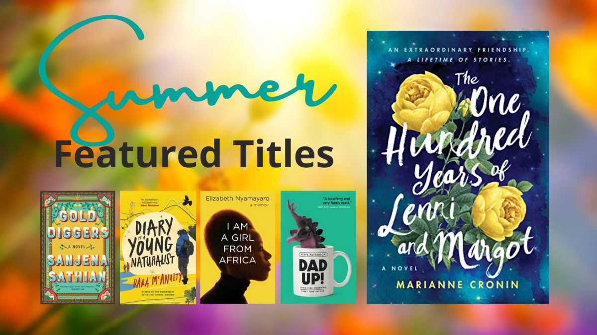 A few covers from the Featured Titles List Summer 2021